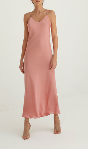 Pearl Slip dress in Rose