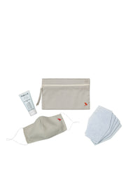 FeelSafe Maskenset, Beige