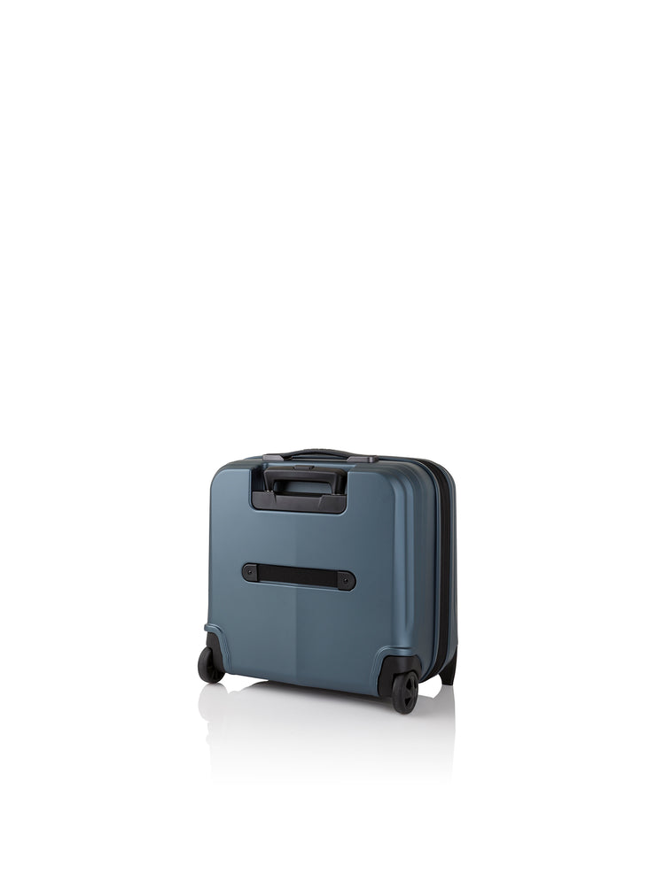 Art Collection Genius Business Trolley, blau, hinten