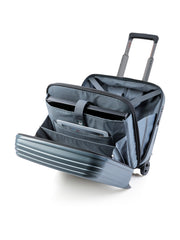 Art Collection Genius Business Trolley, blau, offen