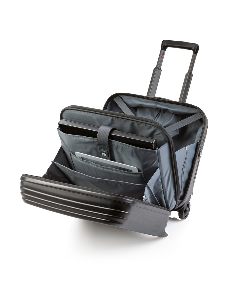 Produkte Art Collection Genius Business Trolley (Schwarz), offen