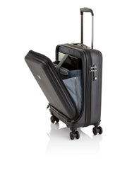 Art Collection Genius Business Cabin-Trolley (Schwarz), offen