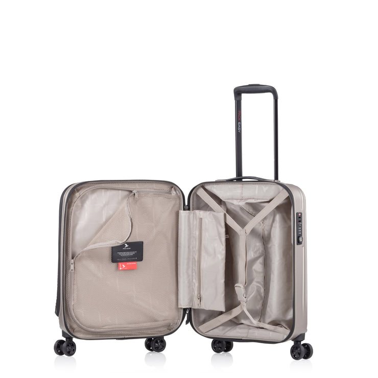 Genius, Business Cabin Trolley S, taupe, offen