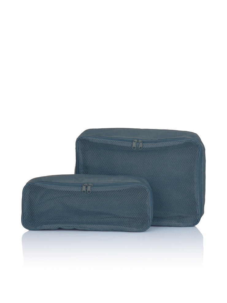 Bag in Bag, 2er Set, S&L, blau, citadel, Pouches