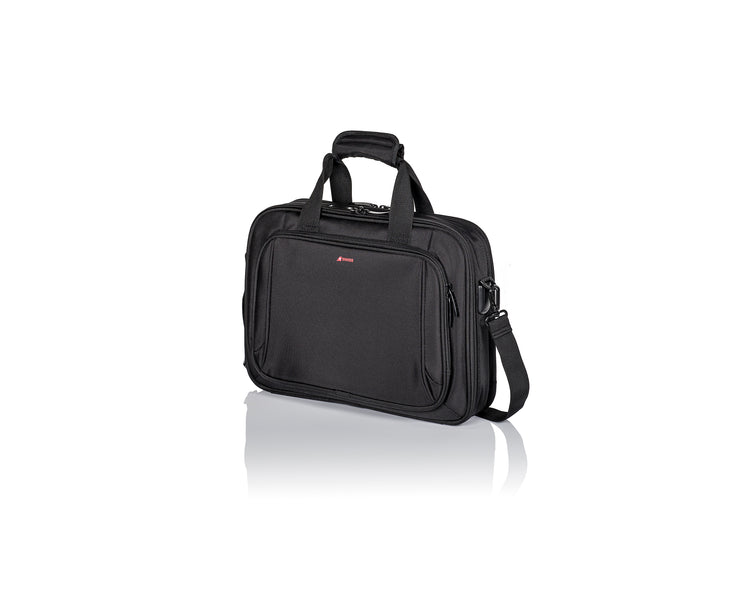 Exclusive SWISS International Air Lines - Business Bag by PACK EASY (Schwarz)
