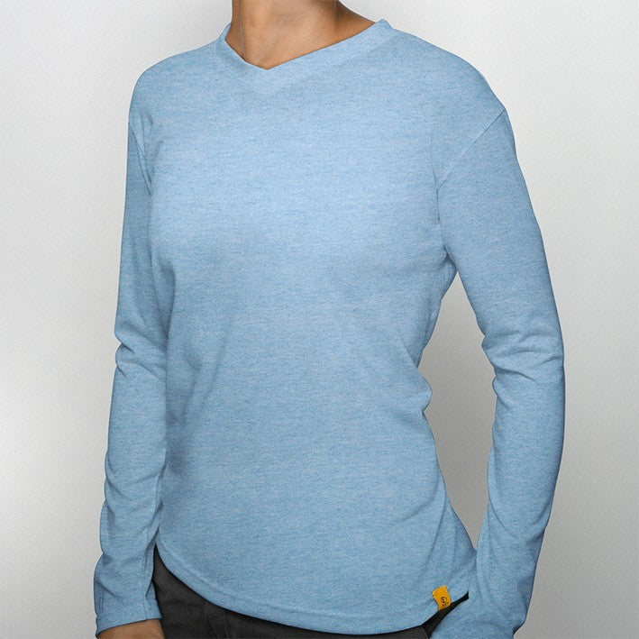 536e1732b ... Women's Smarter V-Neck Long Sleeve | Sport Science | Performance Wear |  Engineering Superior ...