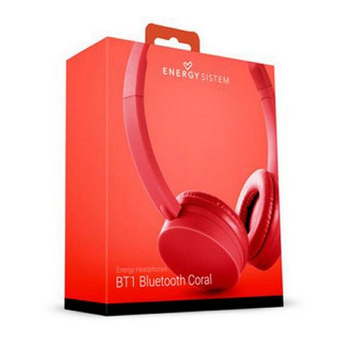 Bluetooth headset med mikrofon Energy Sistem BT1 424832 Koral