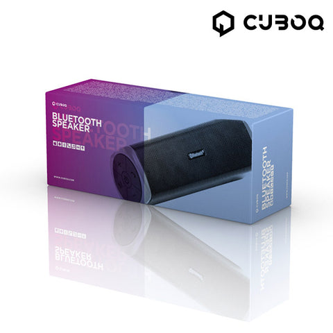 CuboQ Power Bank Bluetooth Højtaler
