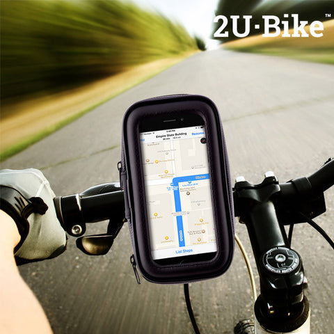 U2·Bike Mobiltelefon Etui og Holder til Cykler