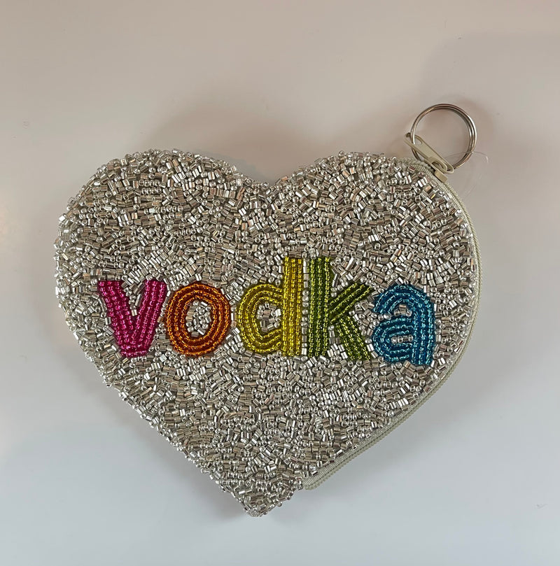 "Moyna '""Vodka"" Heart Coin Purse'"