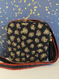 Moyna 'Square Leopard With Red Crossbody' Bag