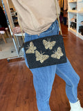 Moyna 'Multi Butterfly Box Bag'