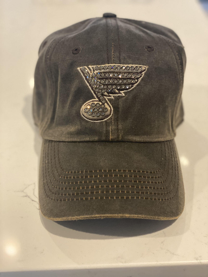 The 'Waxed Blues Bling Hat'