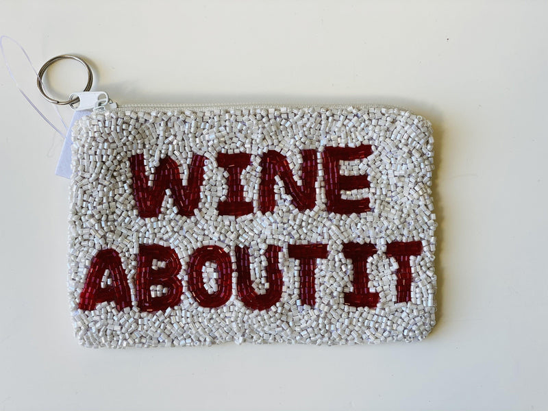 Moyna ' Wine About It Coin 'Purse
