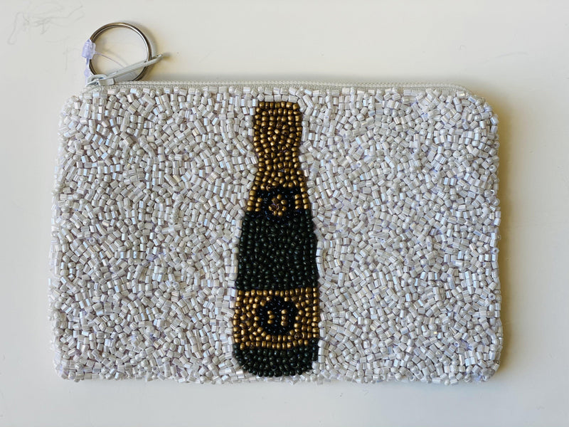 Moyna ' Champagne Bottle Coin 'Purse