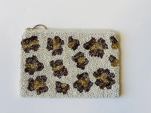 Moyna ' Leopard Coin 'Purse