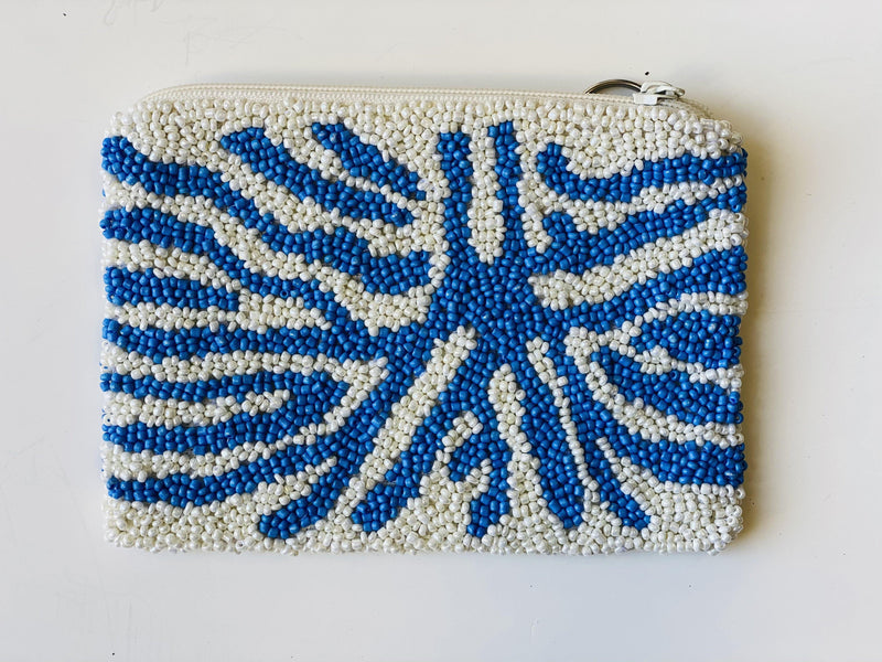 Moyna ' Blue Tiger Coin 'Purse