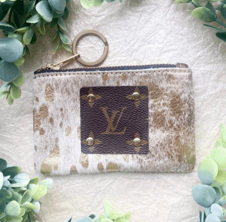 'LV Card/Coin Holder' Key Chain