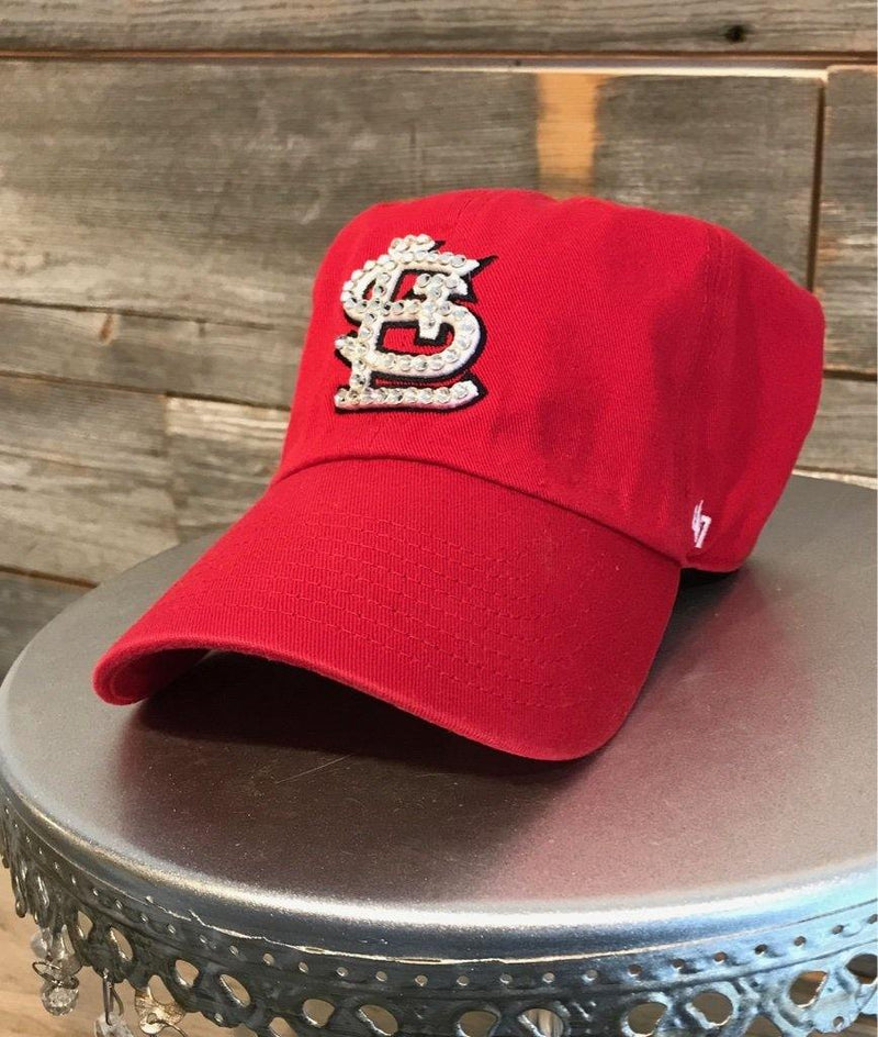'47 Classic Clean Red with Bling' Hat