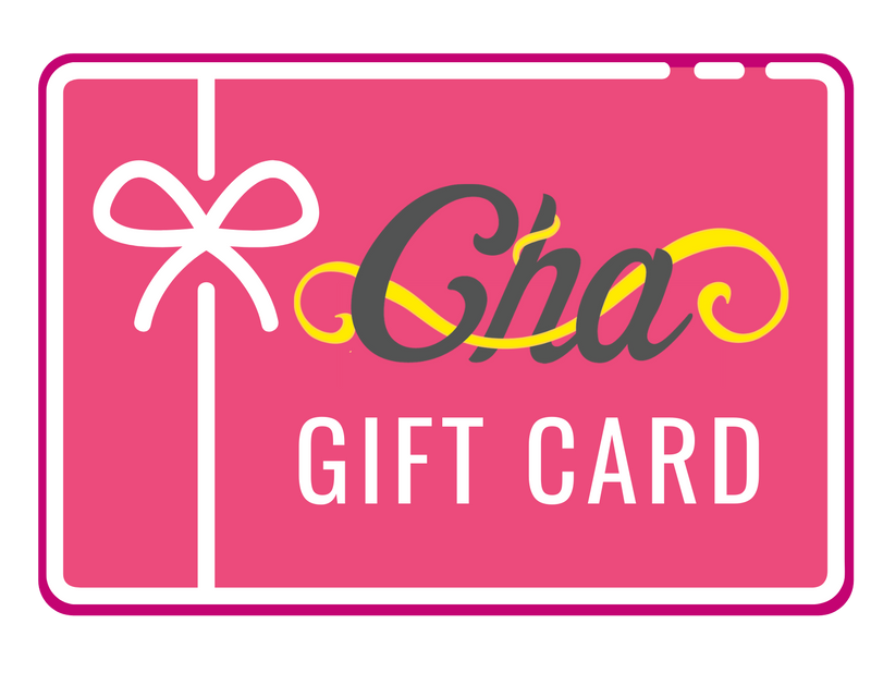 CHA BOUTIQUE ONLINE GIFT CARD