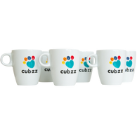 CUBZZ MUGZZ (Set of MUGS = 6x)
