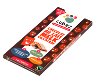 DOOS CUBZZ MELK Chocolade (Fairtrade & STOP kinderarbeid) 18 x 90g