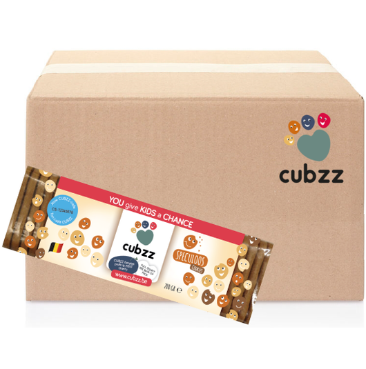 CUBZZ SPECULOOS     25 x 200g