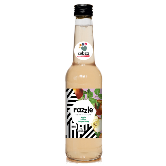 12 FLESJES - CUBZZ Razzle appel-citroen-jeneverbes (12 x 275ml)