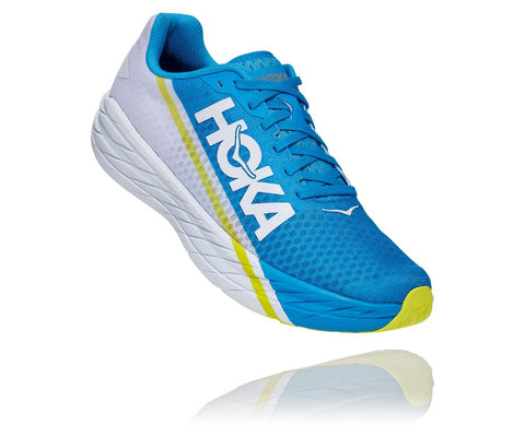 Hoka One One Rocket X - White/Diva Blue - Unisex