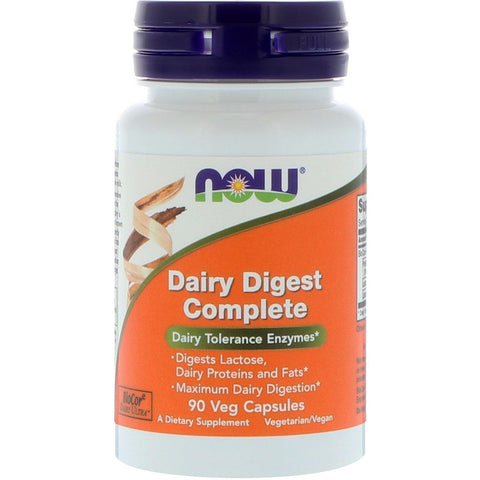 Now Foods Dairy Digest Enzymes - 90 caps
