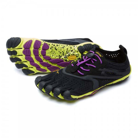 VFF V-Run Women - Black / Yellow / Purple