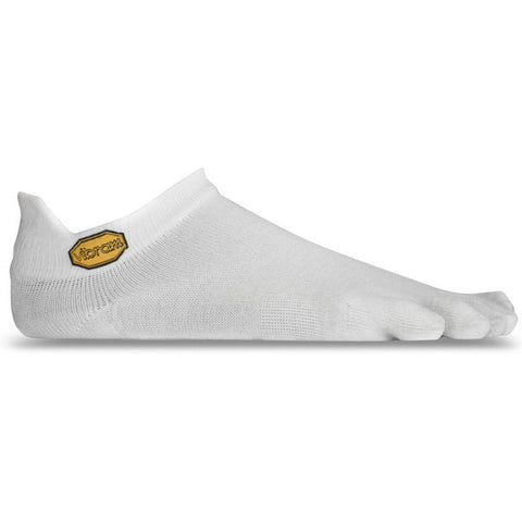 Vibram Five Fingers No Show Toe Socks - White