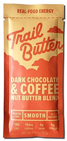 Trail Butter Dark Chocolate & Coffee Nut Butter Blend (Single Serve)