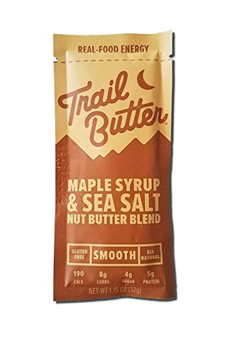 Trail Butter Maple Syrup & Sea Salt Nut Butter Blend (Single Serve)