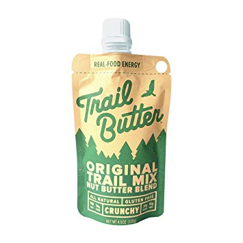 Trail Butter Original Trail Mix Nut Butter Blend Pouch Pack (128g)