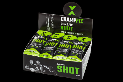 CRAMPFIX QuickFix Shots -Box of 15 x 20ml Single Serve