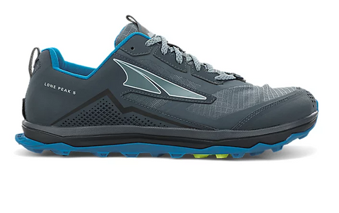 Altra Lone Peak 5 - Blue/Lime - Men's