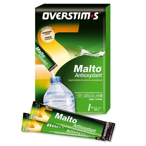 Overstim.s Antioxydant Malto Sticks - Box of 20 sticks