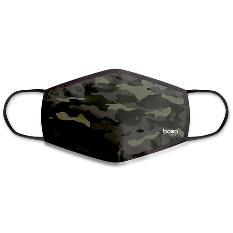 BOCO Gear Face Mask - Camo (Kids)
