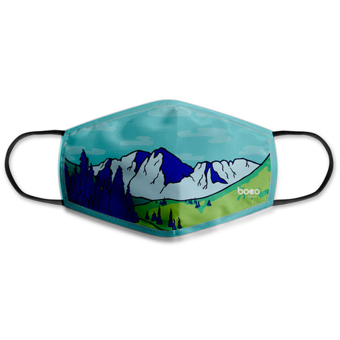 BOCO Gear Face Mask - Mountains (Kids)