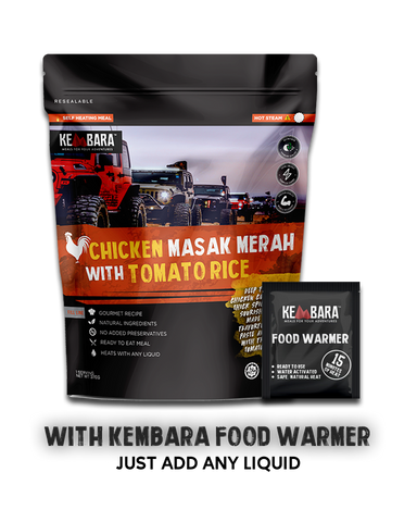 Kembara Meal - Chicken Masak Merah with Tomato Rice (With Food Warmer)