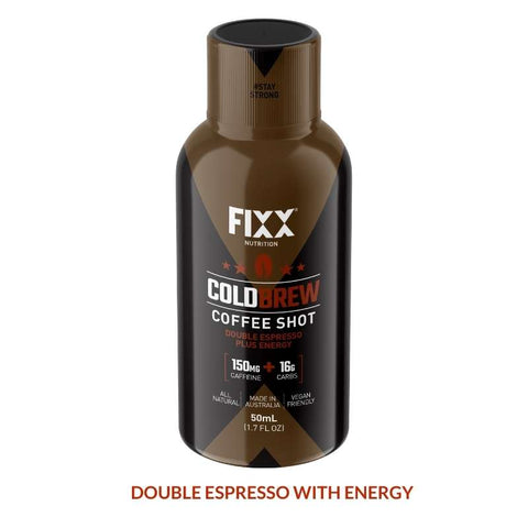 FIXX Cold Brew Energy Shot - 50ml Bottle