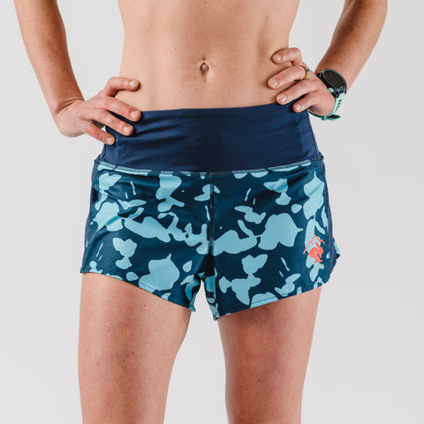 "rabbit Mountain Climbers 2.0 2.5"" - Dress Blues Blot - Women's"