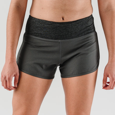 "rabbit Pocket Shorts 2.5"" - Charcoal - Women's"