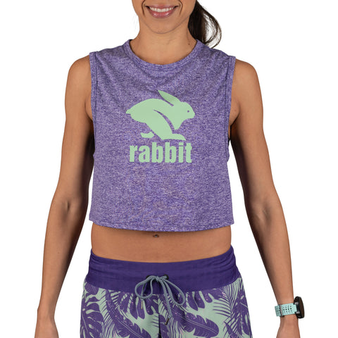 rabbit Sun's Out, Tummies Out - Women's - Heliotrope / Meadow