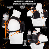 Orange Mud HydraQuiver Vest Pack 2