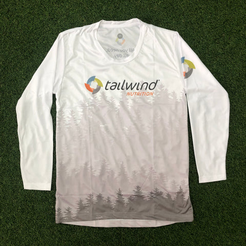 Tailwind Tech Long-Sleeved Tee - White Forest - Men (ULTRA)