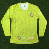 Tailwind Tech Long-Sleeved Tee - Green Contour - Men (ULTRA)