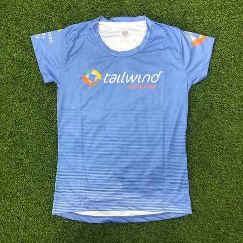 Tailwind Tech Tee - Blue Mountains - Women (ULTRA)