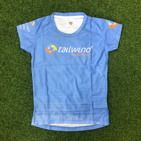Tailwind Tech Tee - Blue Mountains - Women (TROPIC)